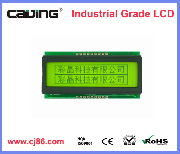 3.3v parallel interface sunlight readable 122x32 monochrome lcd module display