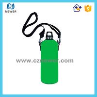 Fashion cheap neoprene water bottle cooler bag for picnic