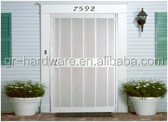 Hot selling manufacturer interior wooden pvc/mdf security door with excellect craftmanship