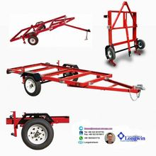off road 2 wheels fourwheeler trailers