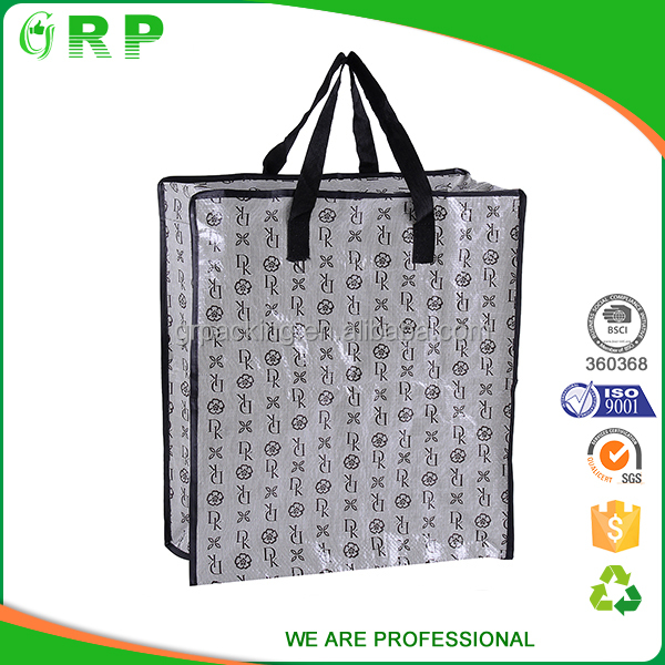 OEM reusable carrying handle promotion nonwoven shopping bag