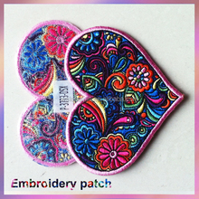 personalized design embroidery patch emblem