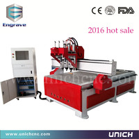 Direct sales multi-head 1300*2500mm cnc router china