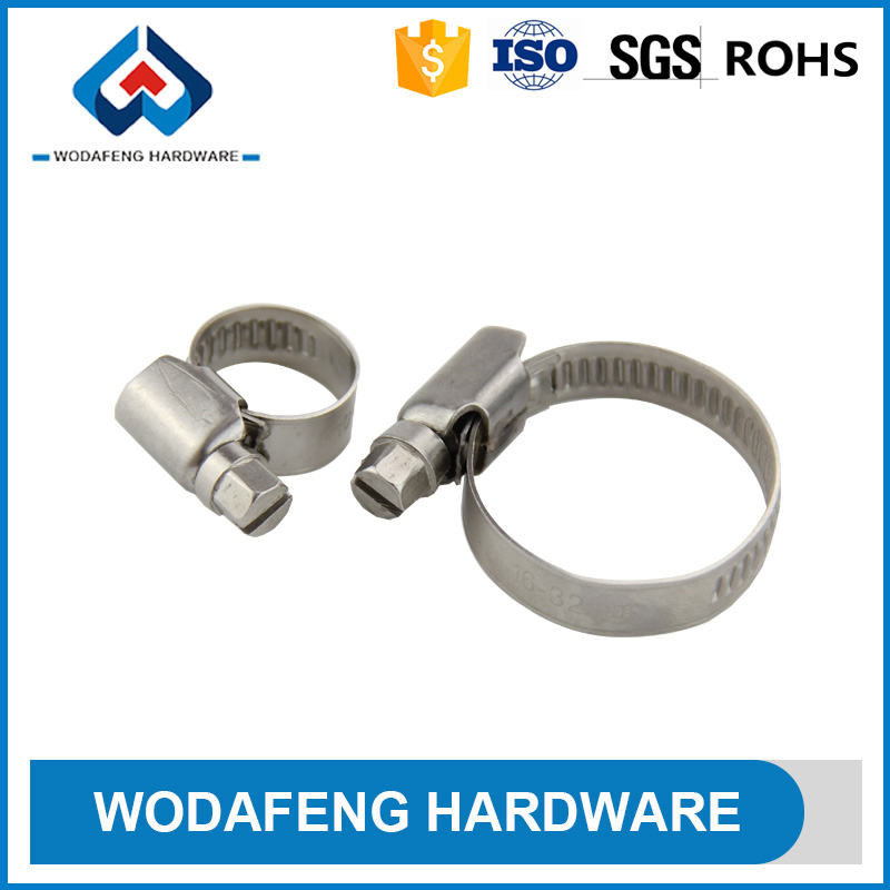German Type High mounting force Extra strong interlocking european hose clamps