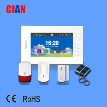 16 zone GSM and PSTN alarm control panel with best drawing
