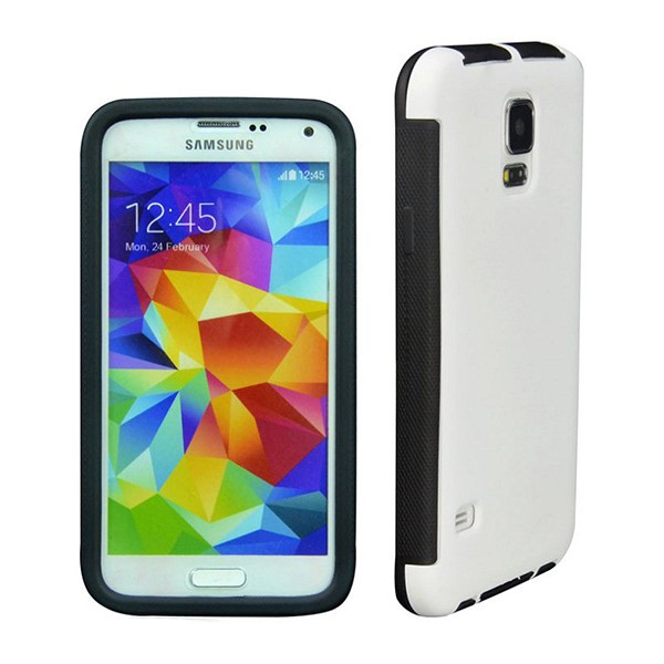 3 In 1 PC+TPU+Touch Screen Full Body Case For Samsung Galaxy S5