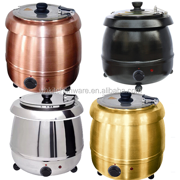 10L Good Quality Electric Stainless Steel soup pot
