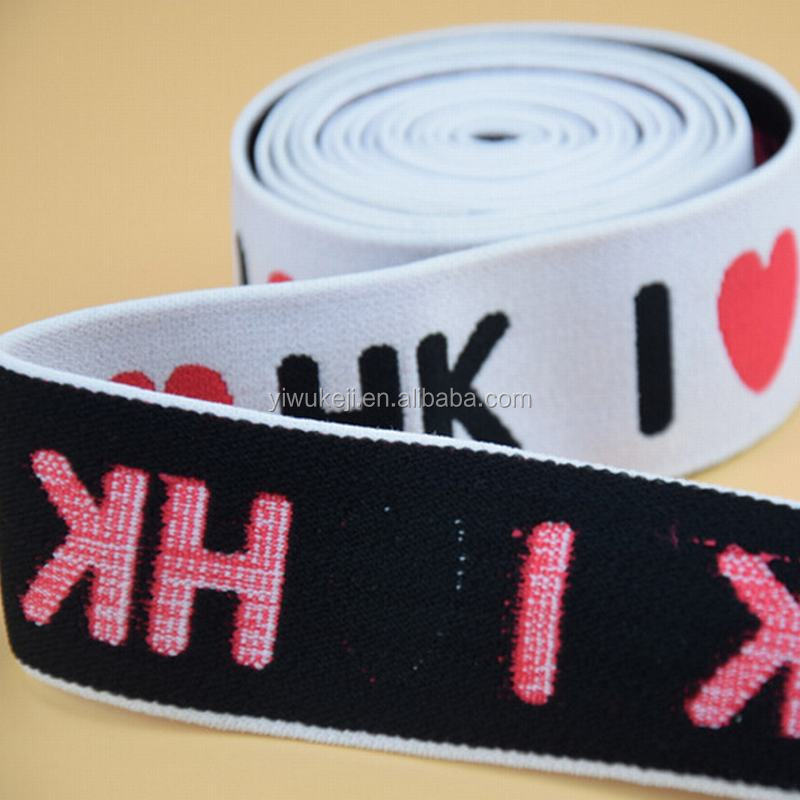 Factory Price Two Sided Personalized Elastic