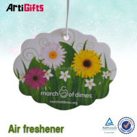 Classic style car cleaning products hanging air freshener