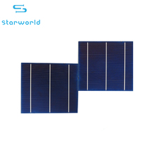 Hot selling grade A high efficiency 17.8%-18.2% efficiency 3v solar cell with CE ROHS certification