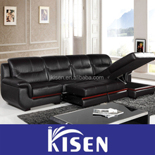L shape sofa bed, sofa pull out bed for living room