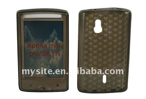 How to Make a Clear Cell Phone TPU Case Covers for Sony Ericsson Xperia mini pro/SK17i