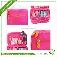Customized high quality leather cosmetic bags made in india