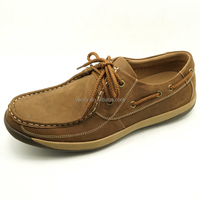 handmade lace up platform comfortable footwear shoe best selling men genuine leather casual shoes
