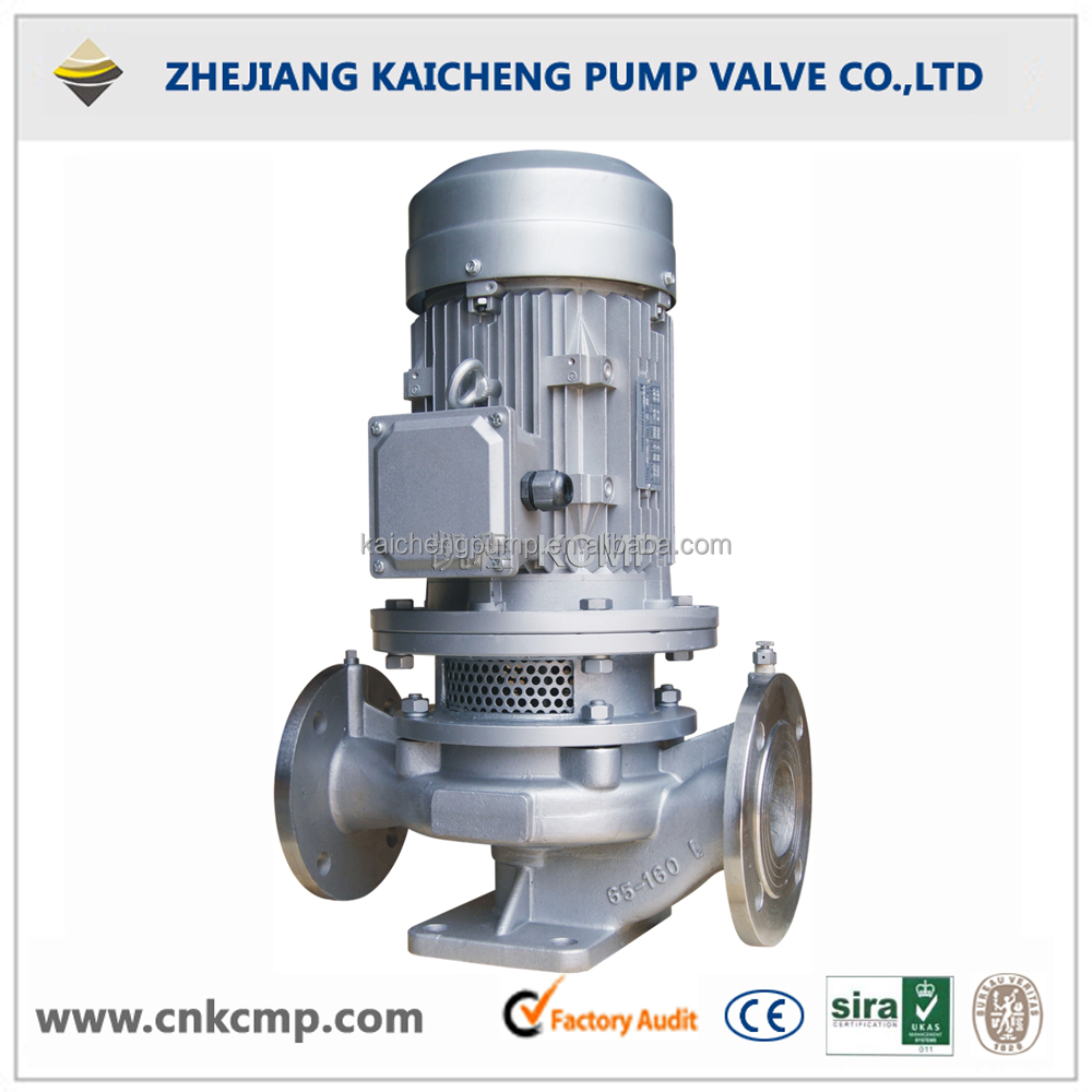New Type Vertical Detachable Coupling Inline Centrifugal Pump