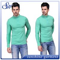 2016 seamless nylon long sleeve zip up man sportswear