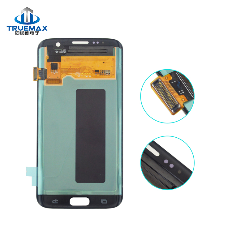 Wholesale Alibaba LCD Touch Screen for Samsung Galaxy S7 Edge, Display for Galaxy S7 Edge