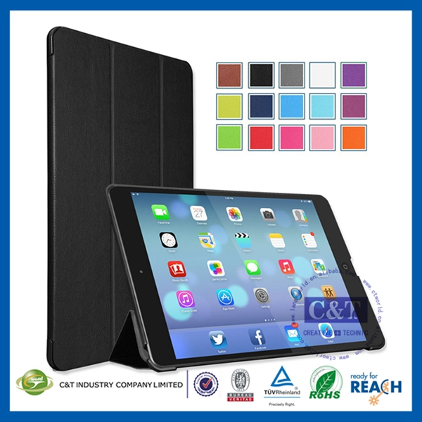 NEW Popular Mobile Phone pc case for ipad air matte transparent case