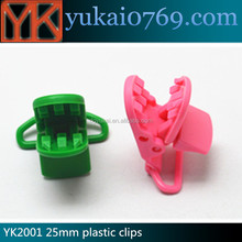 Dongguan Yukai plastic clips for backpacks,plastic retaining clips,money clip