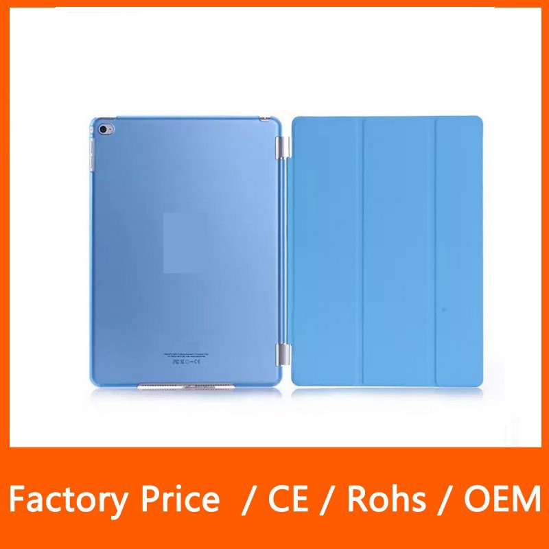 Multi Color Fasion Design Smart Cover Case + PC Matte Back Protector Hard Case for iPad Mini 123