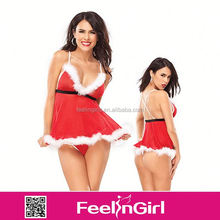 High Quality Red Fashion Wholesale Body Teddy Lingerie