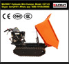 600 Kg Petrol Engine Cheap Easy Operation Farm Hydraulic Dump Transporter for Wetland / Softland , CE / ISO / SGS, Model: CDT-03