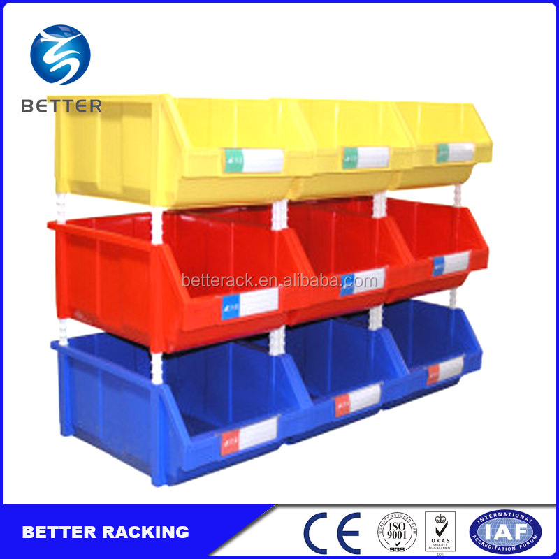 Cheap Industrial Warehouse Storage Plastic Stacking Bin