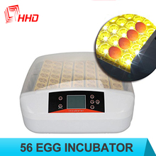 New Design Chinese incubator for chicken, quail with LED light egg tester CE approved