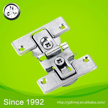Zinc alloy concealed flap hinge for table