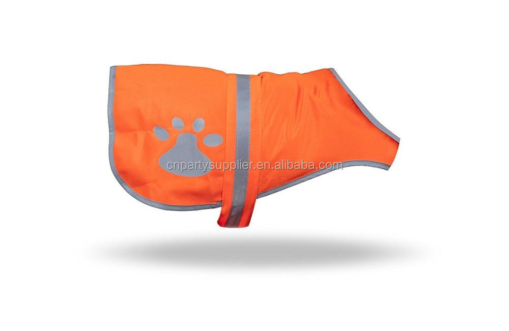 Dog Fluro Protective Safety Vest Reflective High Visibility Jacket Clothing Pet