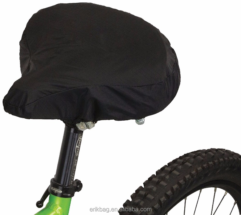 100% Nylon Waterproof Bicycle Saddle Cover Bike Seat Cover