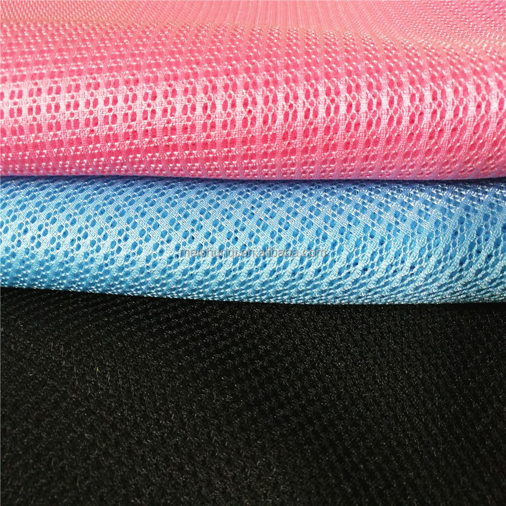 High tech ventilated 3d mesh fabric for baby buggy wholesale baby pillow