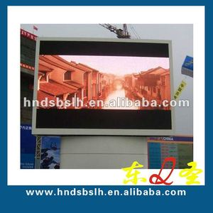 Clearness bus station LED display LED screen