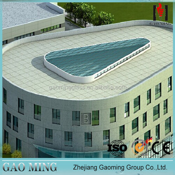 New arrive 2015 Aalibab Golden 20 years experience supplier trade assurance glass roof GM-4165