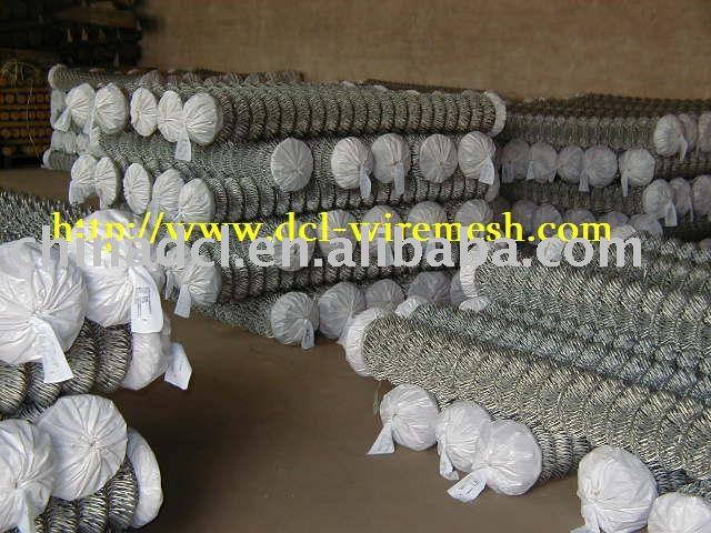 pvc coated chain link fence wire netting
