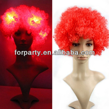 PWS-0437 LED flashing party wigs