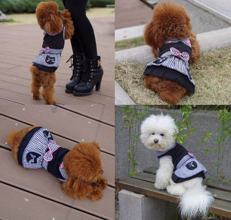 RoblionPet The new spring summer 2016 pet clothing Japanese kimono dress of teddy dog clothes pet clothes of dog