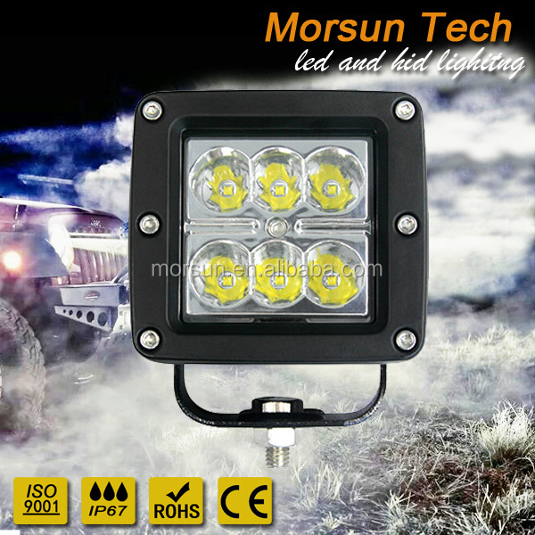 "2"" 6LED Mining 12V 24v 24w led off road work light"