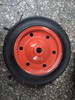 "13"" solid rubber tire for wheelbarrow"
