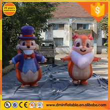 2017 Attractive Inflatable Squirrel Costumes For Parade