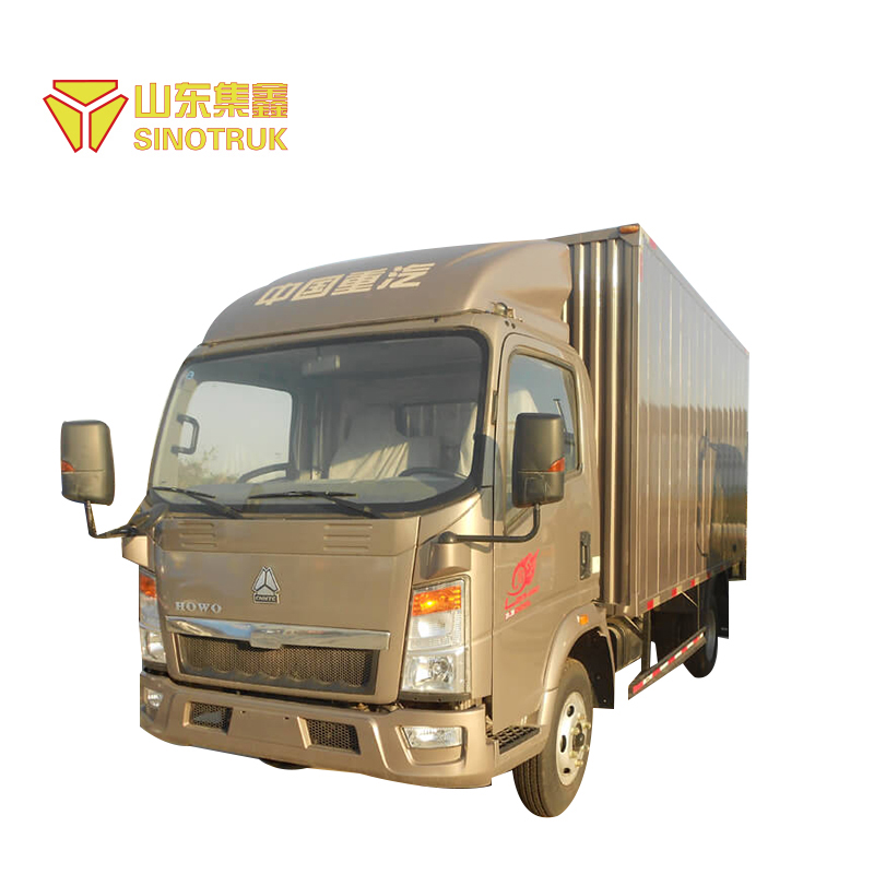 Top factory supplier low price Euro 2 standard 4x2 howo light trucks for sale