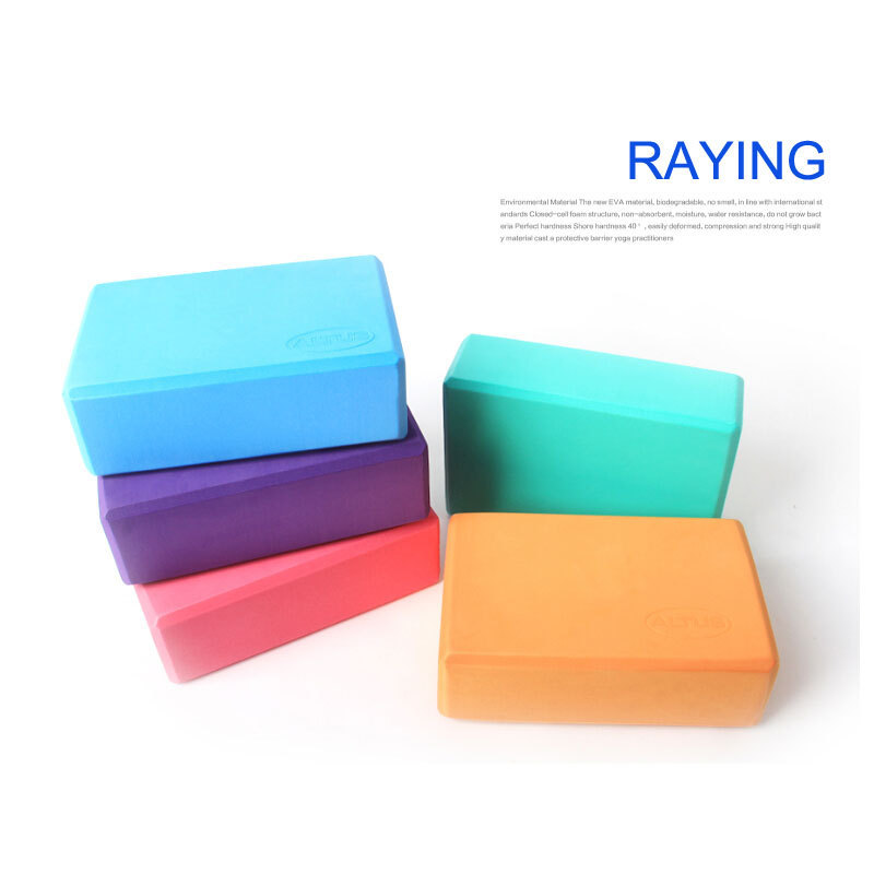 New EVA yoga brick High quality Foaming Foam Block Brick Home Exercise Practice Fitness Gym Sport Tool Newest Brand New Yoga