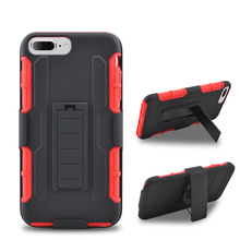 In stock antiproof protective leather belt buckle 3 in 1 assemble cover mobile phone case for iphone 5C