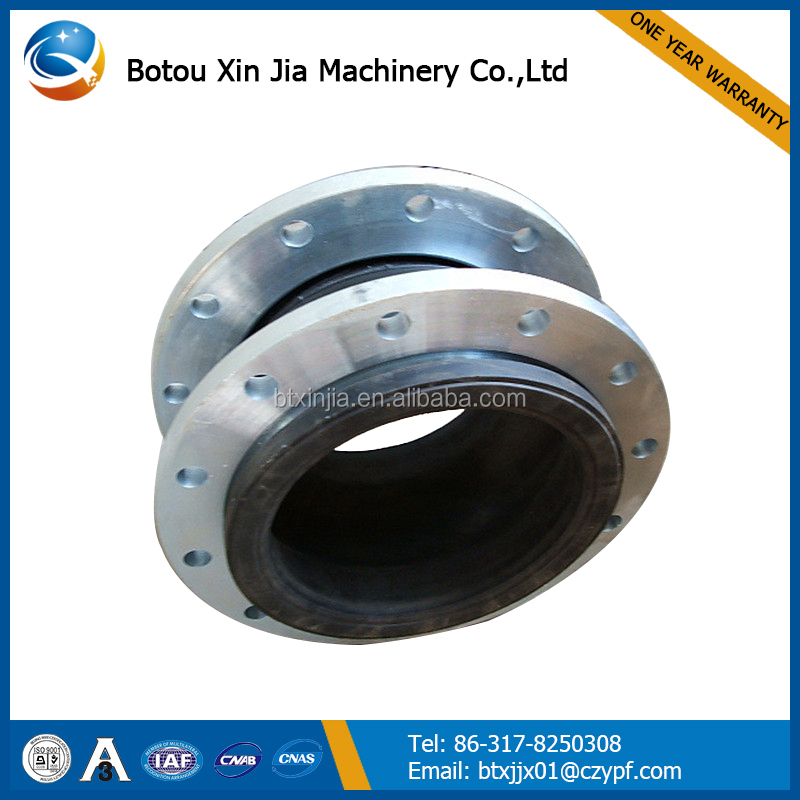 flexible JGD single ball rubber expansion joint