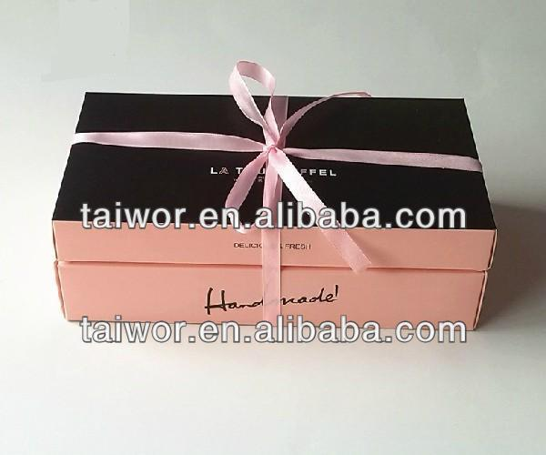 High grade box of cookies with custom size,cookies paper box for packaging