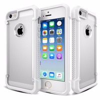 Clear Mobile Phone Tpu Cases For Iphone 5 And 5S Shockproof Case