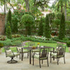 7PCS Garden Furniture Outdoor Steel Dining