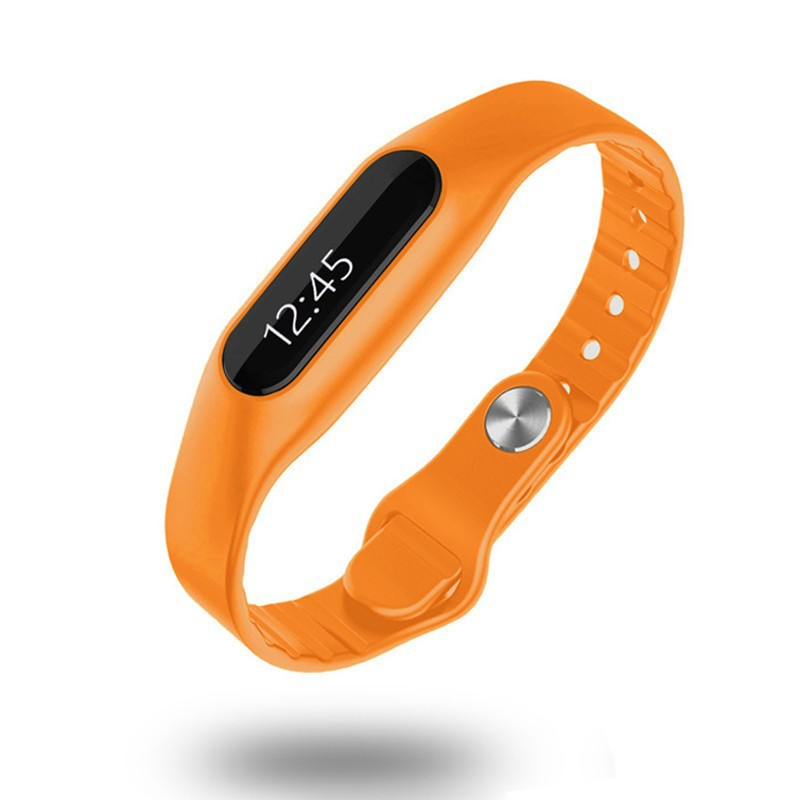 Top Sale Bluetooth Bracelet Smart <strong>Watch</strong> E06 With 0.69 Inch OLED Screen