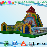 New large inflatable fun land,inflatable fun park,cartoon inflatable fun city on sale