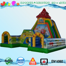 New large inflatable fun land park cartoon inflatable fun city for sale